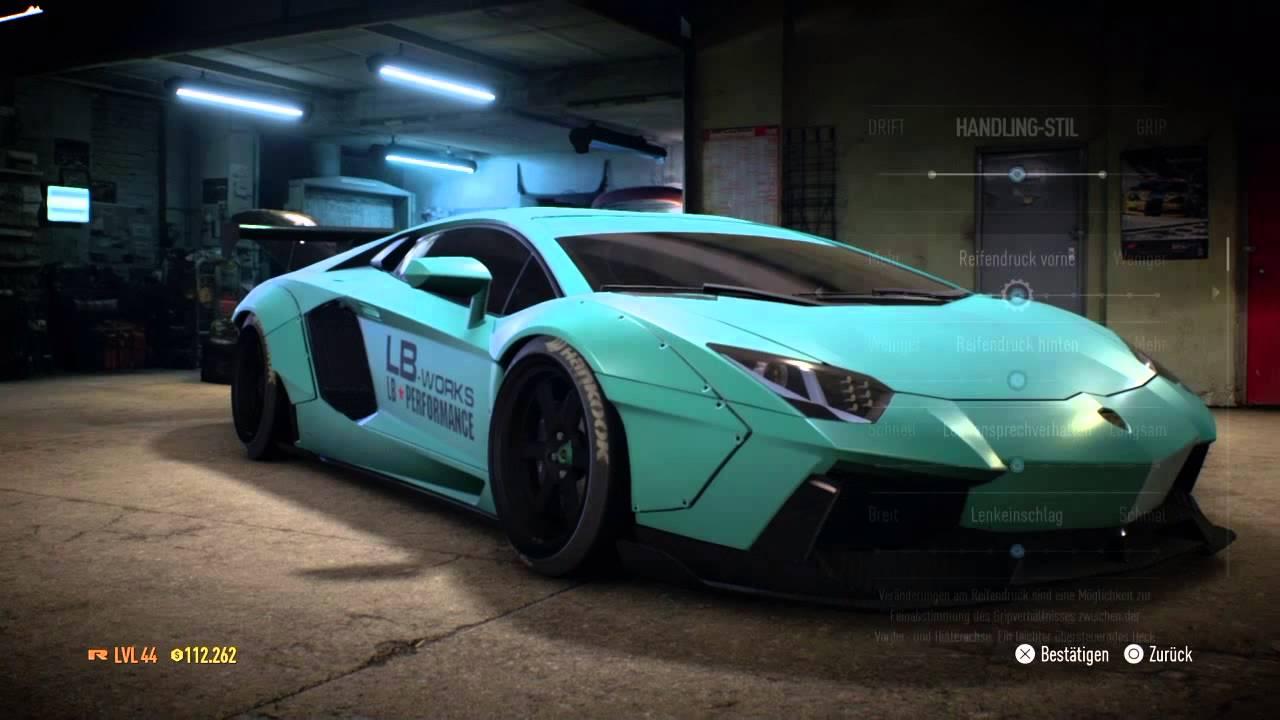 Need For Speed 2015 Lamborghini Aventador Liberty Walk