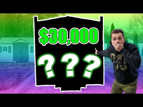 REVEALING MY $30,000 BACKYARD SURPRISE!