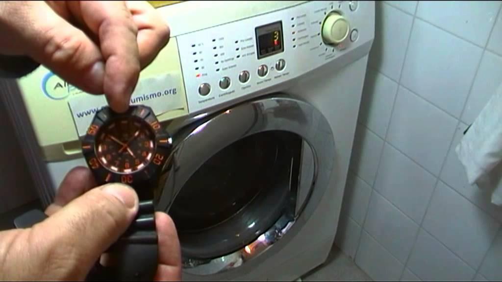 Problemas desague lavadora lavarropas prueba del cubo de for Lavarropas en la cocina