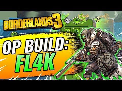 Borderlands 3 FL4K Build! BEST FL4K Build/Skill Tree Class (Easy Damage!)