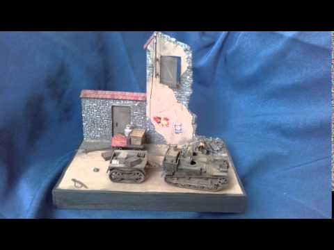 """""""The bitter defeat"""" France 1940 diorama in 1/35 scale"""
