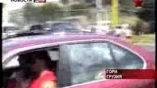 Саакашвили обосрался от страха при звуке росийских истребите