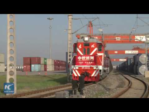 China-Europe new freight train links Xi'an with Budapest
