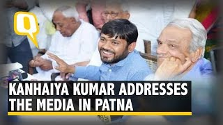 2019 Elections: Kanhaiya Kumar Addresses Press Conference in Patna