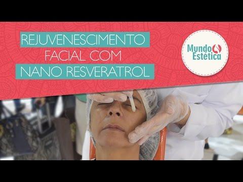 Protocolo de Rejuvenescimento facial com Nano Resveratrol - Medicatriz
