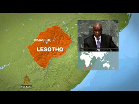 PM: Military coup under way in Lesotho