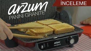 Arzum Panini Granite tost makinesi incelemesi