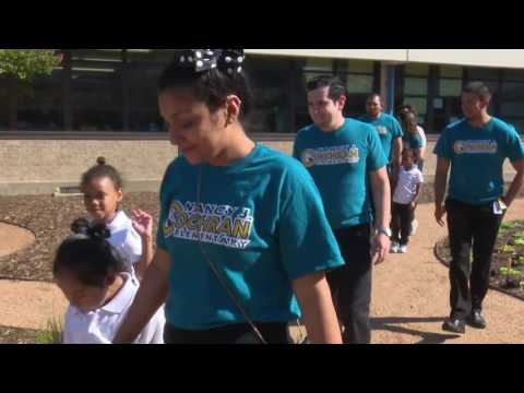 Student Garden Completed! National Mayor's Challenge For Water Conservation in Dallas, Texas