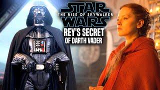The Rise Of Skywalker Rey's Secret Of Vader Leaked! & Revealed (Star Wars Episode 9)