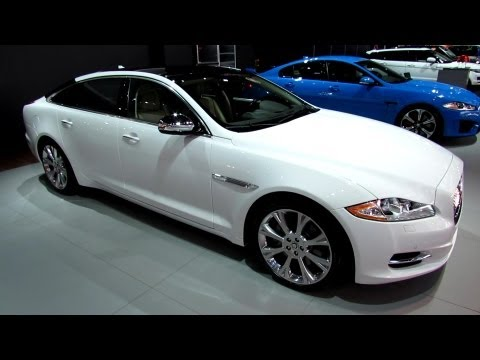 2013 Jaguar XJ-L - Exterior and Interior Walkaround - 2013 Detroit Auto Show