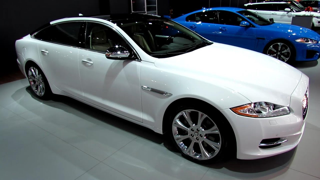 2013 jaguar xj l exterior and interior walkaround 2013 for Jaguar xj exterior