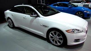 2013 Jaguar XJ-L - Exterior and Interior Walkaround - 2013 Detroit Auto Show