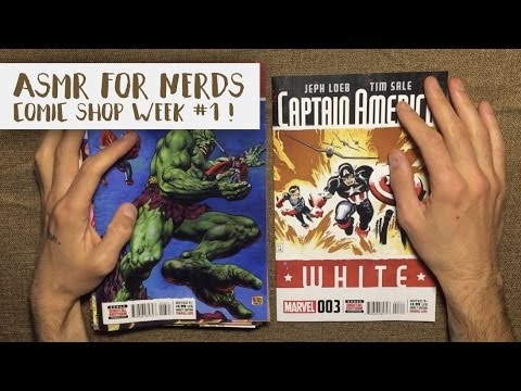 Comic Shop ASMR #1 - Whisper Comic Book Reading
