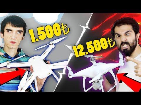 1.500TL Vs 12.500TL DRONE SAVAŞI I W/ Mendebur Lemur - (5.000TL ÇEKİLİŞ)