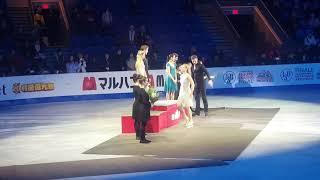 ISU Figure Skating Grand Prix Final 2018 Victory Ceremony Ice Dance