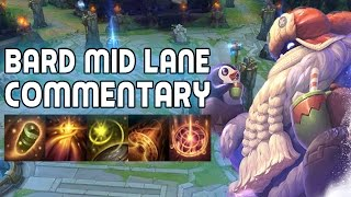 [Preseason 6] Bard Mid Lane - Ranked Game Commentary