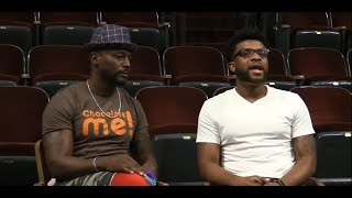 Director Taye Diggs and playwright Keenan Scott II talk about