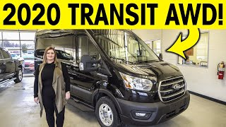2020 Ford Transit AWD - FINALLY! ALL Wheel Drive is HERE!