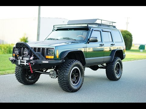 Davis AutoSports Custom and Lifted Jeep Cherokee Sport XJ Stage 4+ For Sale