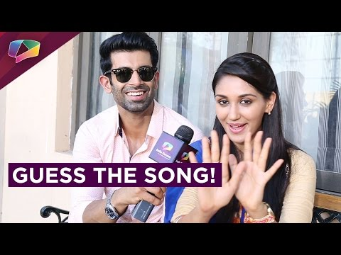 Namik Paul | Nikita Dutta plays together Guess The Song with India Forums!