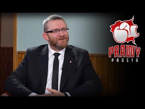 Grzegorz Braun w Prawym Prostym