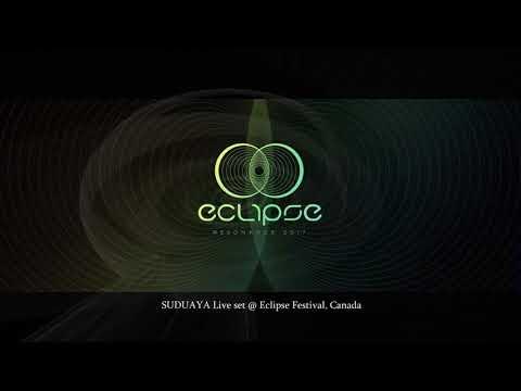 SUDUAYA 3-hours LIVE CHILLOUT Set @ Eclipse Festival, Qc., Canada
