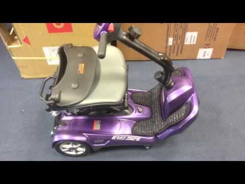 The new drive easy move automatic folding mobility scooter  from Leicester mobility 01162889768