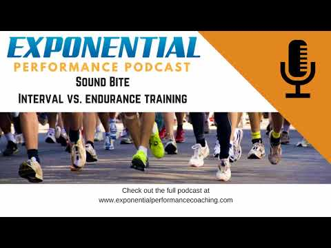 HIIT interval vs. Endurance Training