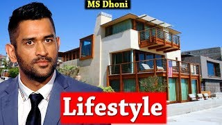 MS Dhoni Lifestyle Wife,Cars & House! A Tribute to MSD! | Bhavesh Dhande|