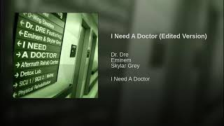 Dr Dre - I Need A Doctor Ft Eminem &amp Skylar Grey (Edited Version)