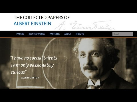 The Collected Papers of Albert Einstein: The Digital Edition - Diana K. Buchwald - 12/5/2014