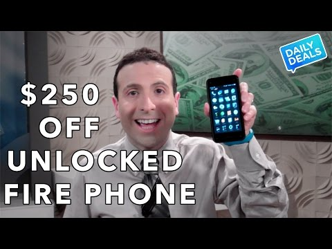 $189 Unlocked Amazon Fire Phone Review, Free Case  - The Deal Guy