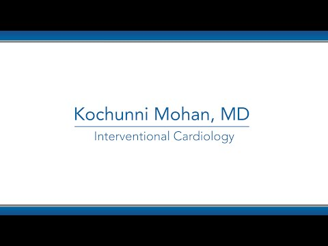 Kochunni Mohan, MD video thumbnail