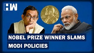 Business Headlines: Nobel Prize Winner Slams Modi Policies