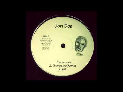 Jon Doe - Champagne