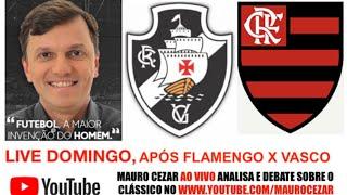 "LIVE no canal ""Mauro Cezar"" no YouTube"