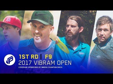 2017 Vibram Open | Round 1, Front 9 | Sexton, Lizotte, Conrad, Anthon