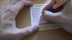 Lotto Teil System Schein