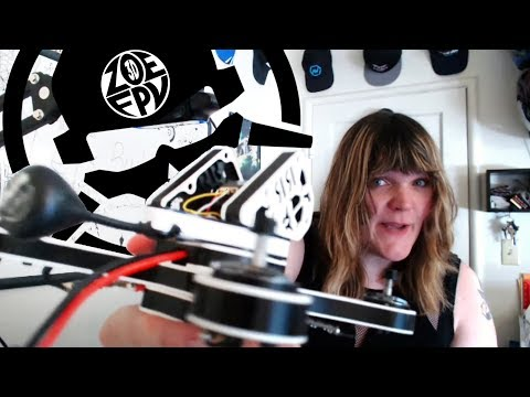 Indestructible Rotor Riot RaGGe WBX! Live Drone Build on The Bench