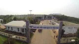 TH True Milk Dairy Farm - View from Flycam