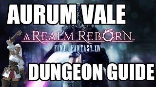Final Fantasy XIV: A Realm Reborn - Aurum Vale Dungeon Guide