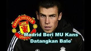 MENGEJUTKAN! Bursa Transfer Pemain - Real Madrid Beri Manchester United Kans Datangkan Gareth Bale