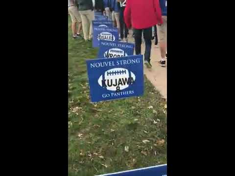 Varsity Football Semifinals Send-off at Nouvel Catholic Central High School