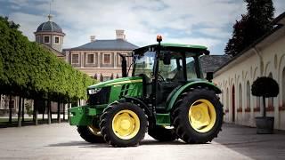 John Deere - Tractores serie 5E - Más tractor, mayor comodidad.