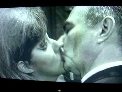 James Mason and Lynn Redgrave-- Most Awkward Kiss, Ever