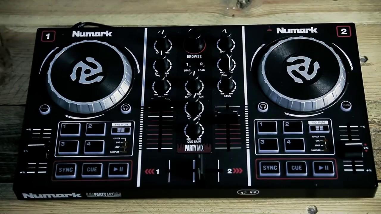 Numark Party Mix - WSDJ Studio prezentacja [PL]