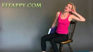 Chair Exercises - Workout in your Office/ sitting at your desk / table