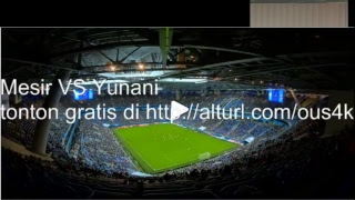 Video Gol Pertandingan Mesir vs Yunani