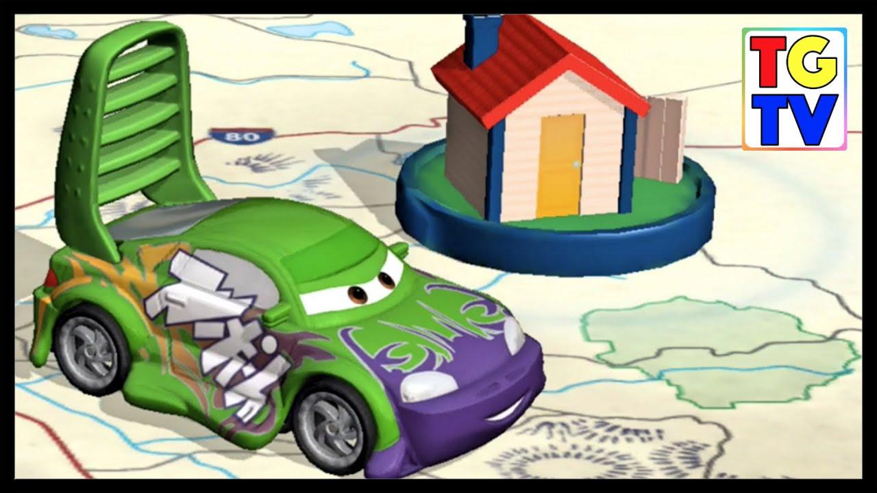 Disney Pixar Cars Wingo Daredevil Garage Youtube