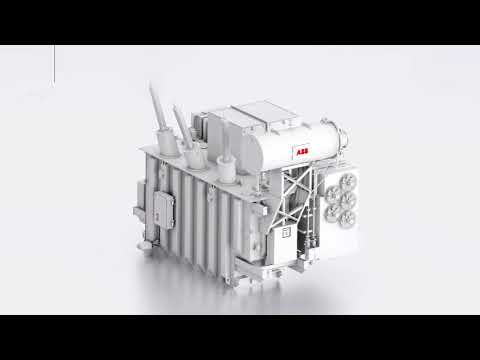 ABB Ability™ Power Transformer - the world's first digitally integrated power transformer